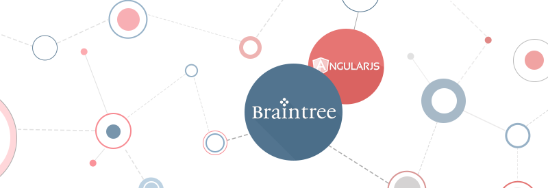 Angularjs, javascript, braintree technologies