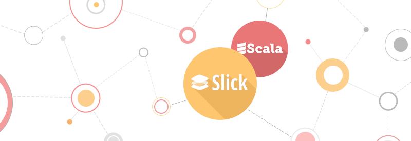 Scala, slick, mysql technologies