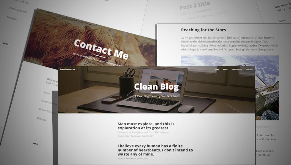 Grain Clean Blog Theme