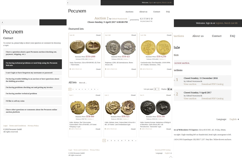 pecunem.png project preview